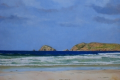 Carrickfin Beach, Donegal. (commission)