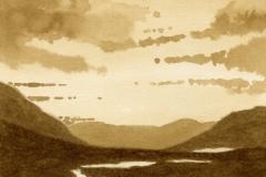 Lochan Meall an t-Suidhe (Oak Gall Ink)